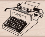 Sello Retro Typewriter de Hero Arts