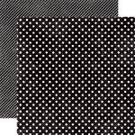 Papel Black Licorice Small Dots