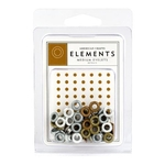 Medium Eyelets Metallic AC