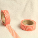Washi Tape stripes naranja