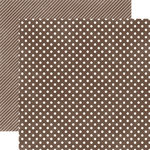 Papel Chestnut Small Dots