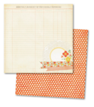"Papel Tangerine ""Sunshine"" Beam"