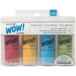 Set 4 colores WOW! Glitter Iridiscent