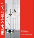 Lampara Finland Table Lamp, Lamparas de sobre mesa Anunciado en TV - TELETIENDA