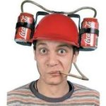 Drinking helmet with straws. Colors | Jokes and Funny