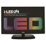 "LED TV I-JOY 24"" USB Recorder TDT HD"
