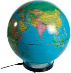 BIG Terrestrial Globe. Cities of the World LED 25cms