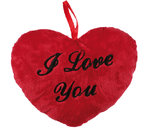 I love You Red Heart Cushion 26 cms