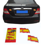 Spanish Flag Sticker for Decorating the car