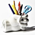 Pen Holder with Hand Shape