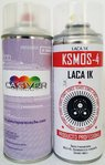 Kit pintura coche 400ml + barniz 400ml spray
