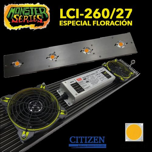LED LINEAR grow 260W 2700K