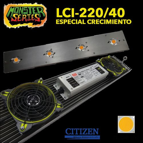 LED LINEAR grow 220W 4000K