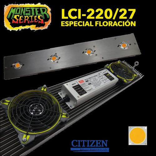 LED LINEAR grow 220W 2700K