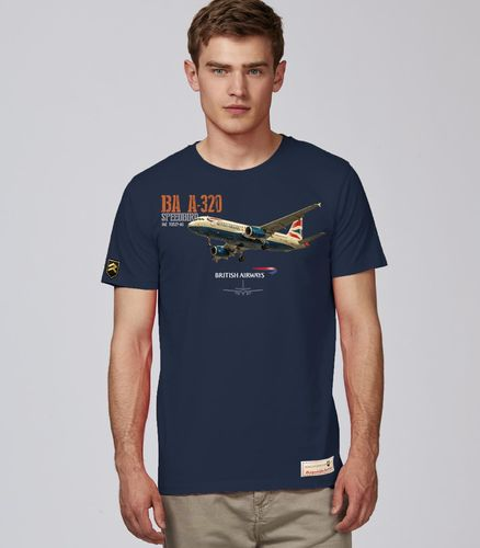 Camiseta Airbus A-320 BRITISH AIRWAYS PREMIUM