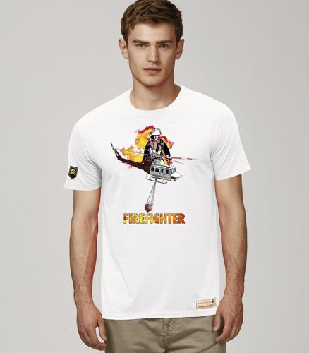 Camiseta HELO FIREFIGHTER PREMIUM
