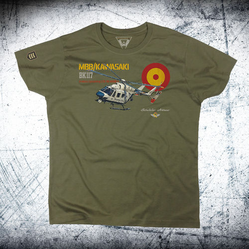 Camiseta BK117 Guardia Civil performance