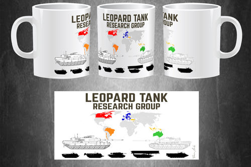 Taza Leopard Tank Research Group