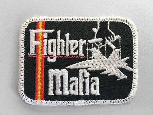 Parche Bordado FIGHTER MAFIA con velcro