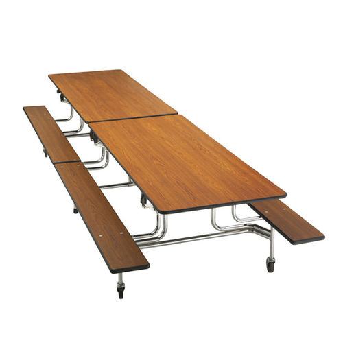 Table SICO BY65 Folding and Mobile with bench 305x76