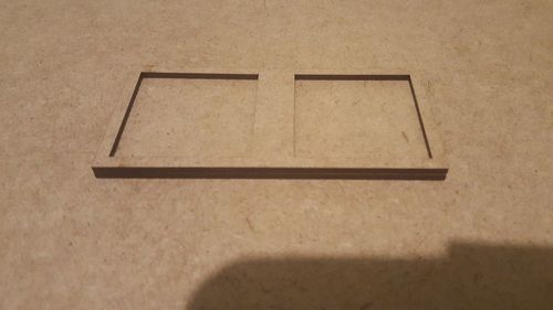 Tray of movement 2 pegs 40x40mm harasser, ninth age or similar