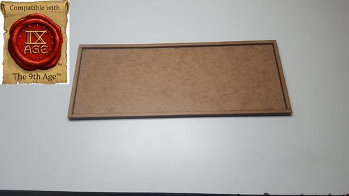 Movement tray for 6 miniatures of 40x40mm