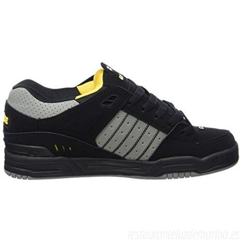Zapatilla Globe Fusion II black/grey/yellow