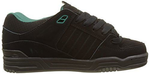 Zapatilla Globe Fusion II black/black/sea green