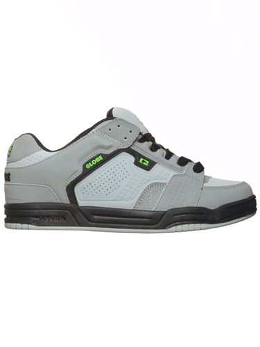 Zapatilla Globe Scribe II grey/black/lime