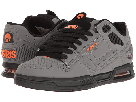 Zapatilla Osiris I Peril charcoal black orange
