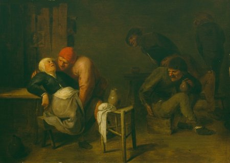 Adriaen Brouwer. Peasant Inn, oil on wood, 27 × 35 cm. Bredius Museum. The Hague\\n\\n01/11/2011 00:10