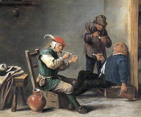 Adriaen Brouwer. The Topers (Boors Smoking in an Interior)\\n\\n01/11/2011 00:10
