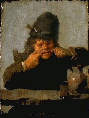 Adriaen Brouwer. youth making a face 1632.1635\\n\\n01/11/2011 00:09