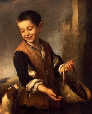 Bartolomé Esteban Murillo. Chico con perro. Boy with a Dog.1650\\n\\n31/10/2011 21:13