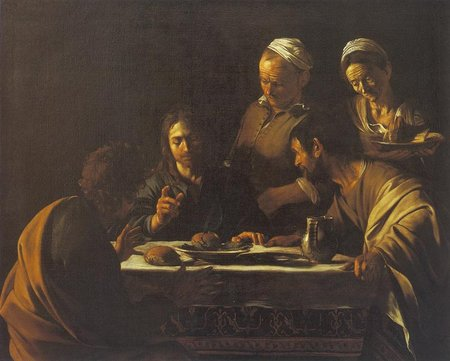 Caravaggio. Supper at Emmaus. 1606\\n\\n01/11/2011 00:31