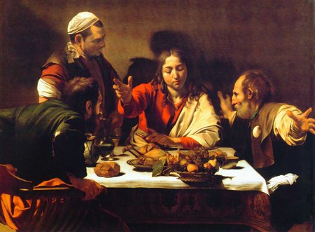 Caravaggio. The Supper at Emmaus. 1600\\n\\n01/11/2011 00:31
