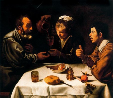 Diego Velázquez. El almuerzo o Almuerzo de campesinos. peasants at table1618-1619\\n\\n30/10/2011 20:22
