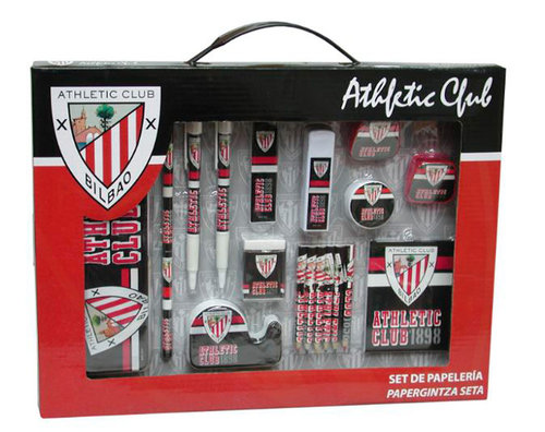 ATHLETIC BILBAO SET PAPELERIA EN CAJA