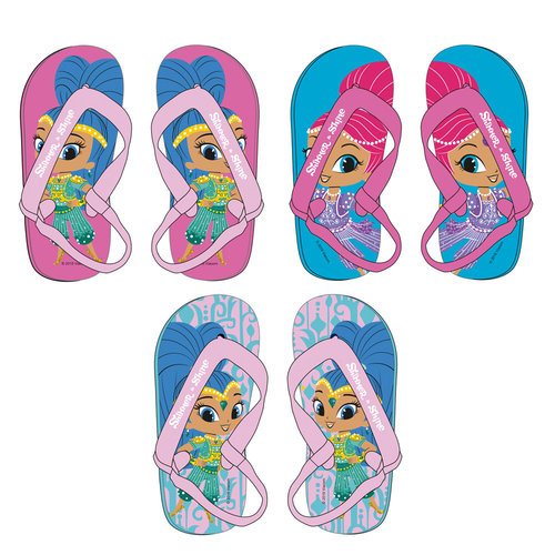 SHIMMER AND SHINE CHANCLAS