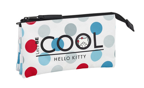"HELLO KITTY PORTATODO TRIPLE ""COOL"""