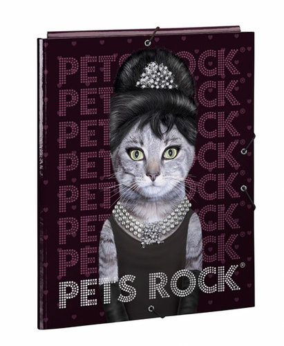 "PETS ROCK CARPETA FOLIO 3 SOLAPAS ""BREAKFAST"""