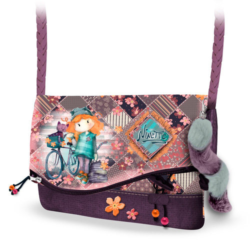 "FOREVER NINETTE BOLSO HANDY ""BICYCLE"" (2 UNID)"