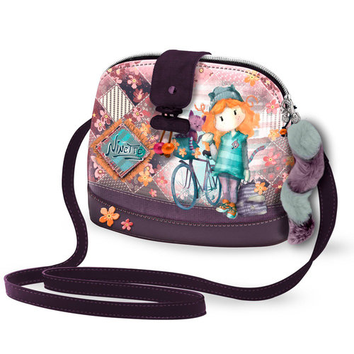 "FOREVER NINETTE BOLSO MOON PEQ ""BICYCLE"" (2 UNID)"