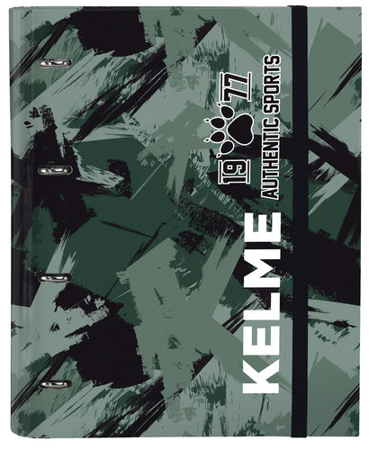 "KELME CARPETA 4 ANILLAS 30MM C/RECAMBIO ""AUTHENTIC"""