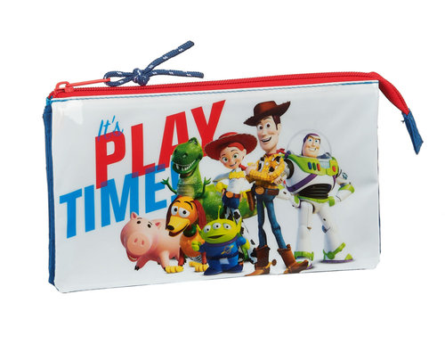 "TOY STORY PORTATODO TRIPLE ""PLAY TIME"""
