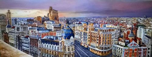 MADRID FROM THE SKY A