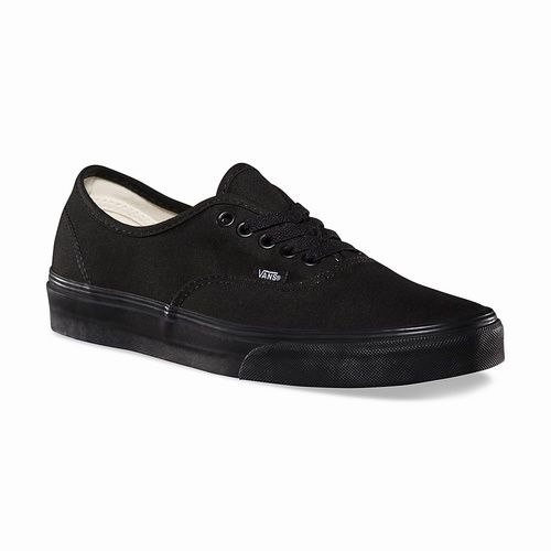 Vans Authentic negras con suela negra