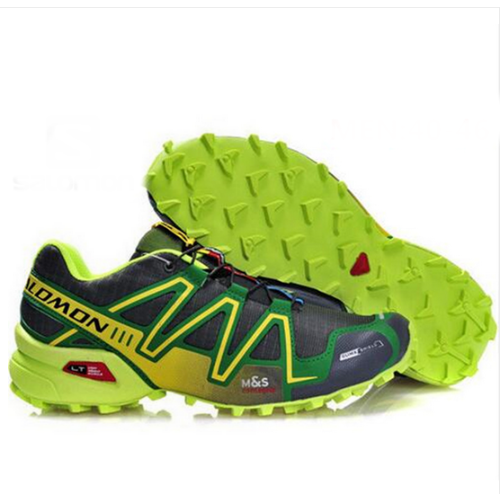 Salomon Speedcross 3 GTX amarillas y verdes