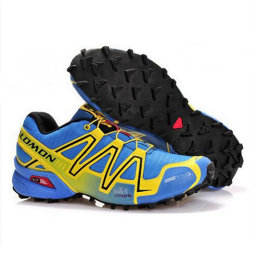 Salomon Speedcross 3 GTX azules y amarillas