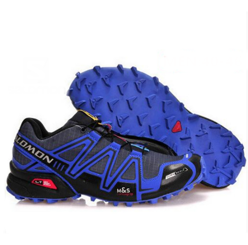 Salomon Speedcross 3 GTX azules y negras